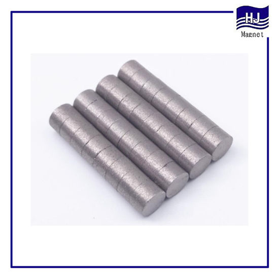 Rare Earth Product Wafer Permanent Cylinder SmCo Magnet