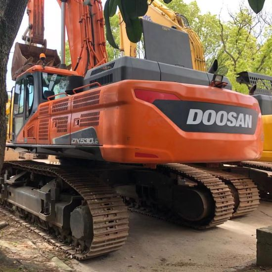 Used Doosan Dx530 Excavator, Used Doosan Daewoo Dx500 Excavator 50ton / 53ton Excvator