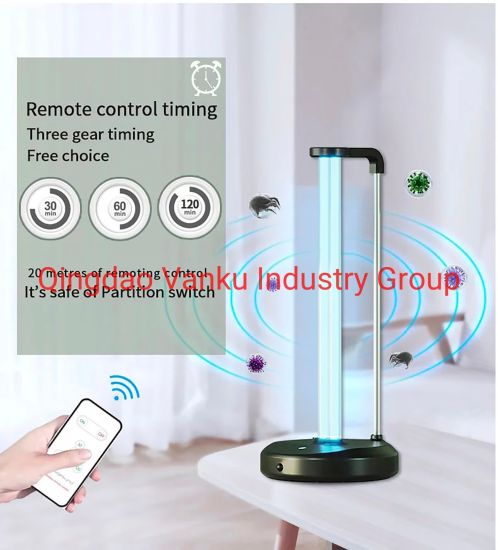 UV Germicidal Timer Table Lamp Disinfection Sterilizer Cleans Air Purifier UVC Lamp