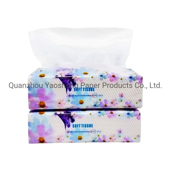 OEM Service 2 Ply Wholesale Soft Pack Tissue Super Soft Virgin Wood Pulp Material Available