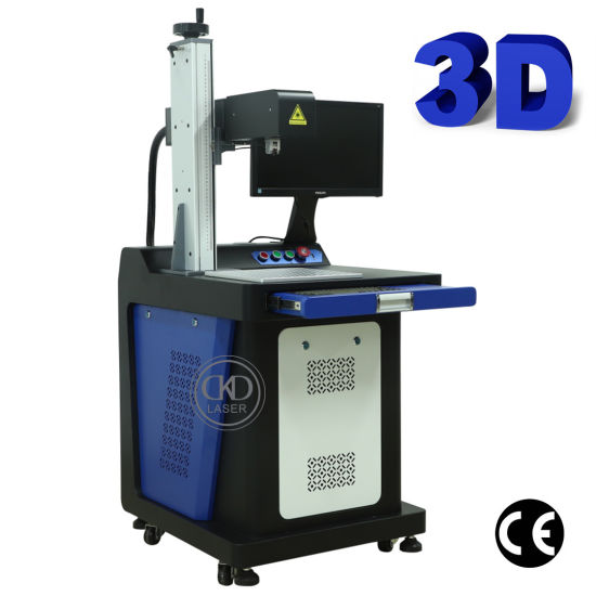All-in-One 3D Relief Laser Engraving Marking Machine for Metal Plastic