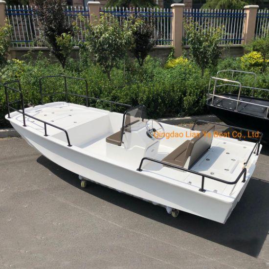 Liya 4.2m Small Size Fiberglass Fishing Boat Water Mini Boat for Sale