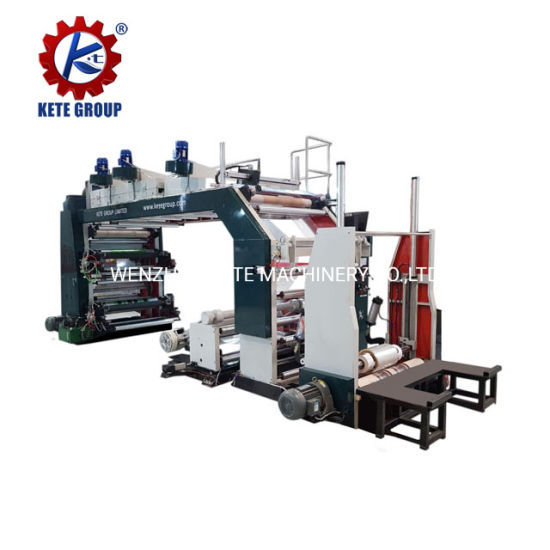 High Speed Roll to Roll Paper Printer Machine for Roll Paper or Paper Bag or Kraft Paper