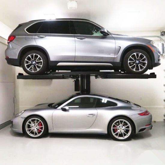 Hot Sale One Post Hydraulic Car Parking Lifts with CE