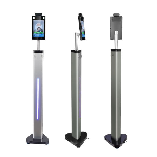 Floor Standing 1.1m Face Recognition System Temperature Measuring Terminal
