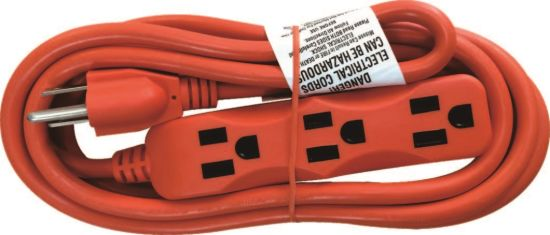 3 Outlets Utility Extension Cords, Power Cords (06-GGPT7116)