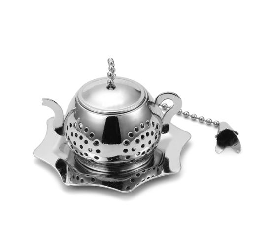 Gold Plating and High Quality Mini Tea Party Infuser pictures & photos