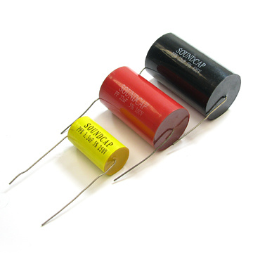Soft Wire 225 630VDC V Cbb20 Axial Type Polypropylene Film Capacitor Tmcf20 pictures & photos