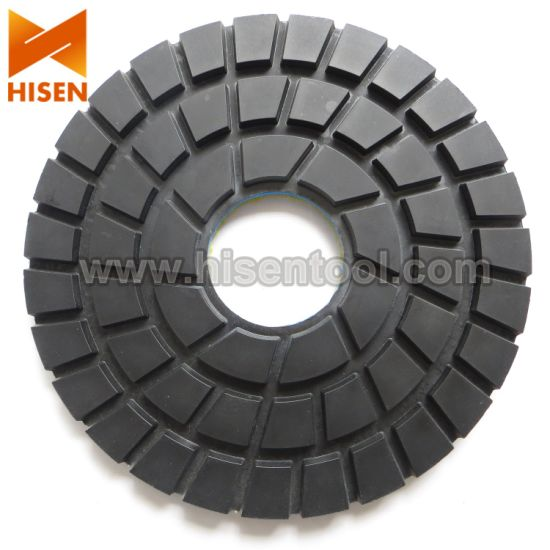 Standard Quality 230mm Diamond Dry Polishing Pads for Granite, Floor pictures & photos