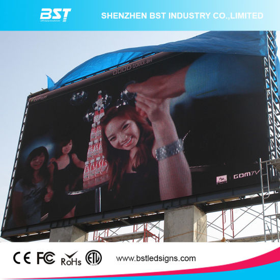 P6mm Outdoor Waterproof LED Display Screen for Commercial Advertising