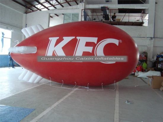 2019 Outdoor Advertising Inflatable Flying Helium Blimp for Sale