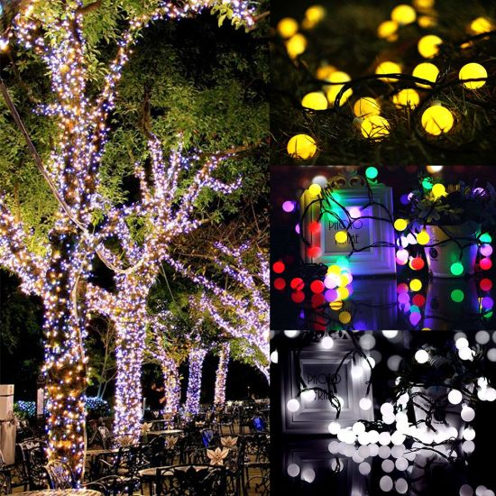 Outdoor String Lights Dream Color Led String Lights With App Waterproof Led Color Changing Hanging Lights For Patio Wedding Party Holiday