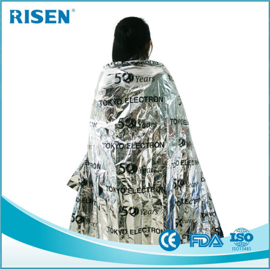Keep Warm First Aid Blanket Travel Emergency Blanket Rescue Foil Blanket pictures & photos