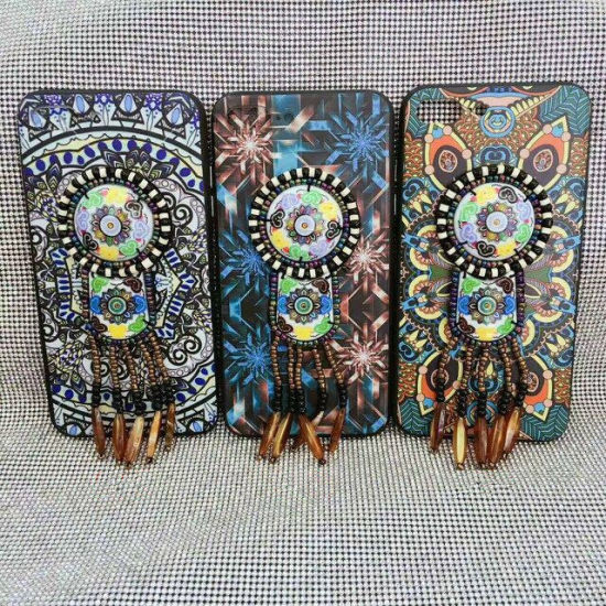 Unique Bohemian Style Hybrid Protective Case with Ball Pendant pictures & photos