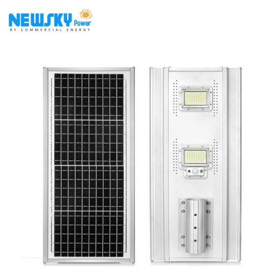 2020 Newly Outdoor Lighting Waterproof IP65 All in One Jd Model Solar Street Light