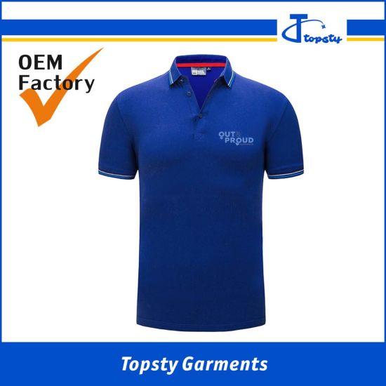 OEM Made Men's Promotional 100% Ring Spun Cotton Polo Shirts