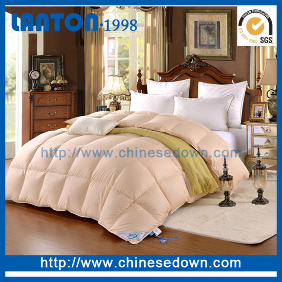 China New Product King Size Lovely Goose Down Comforter Set