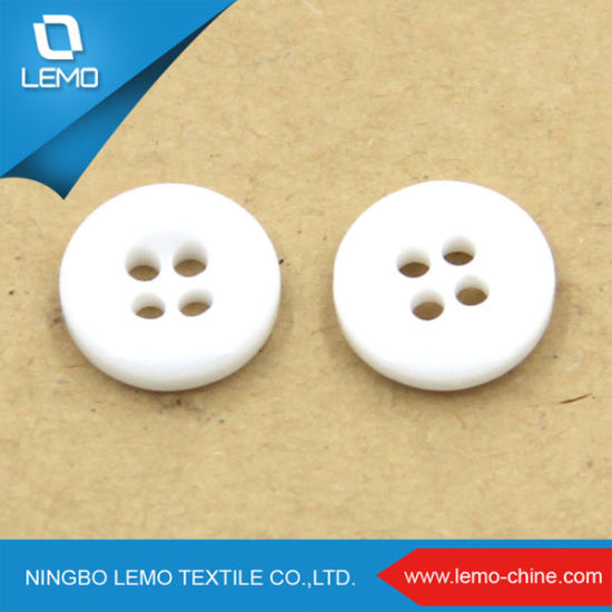 Wholesale 4 Holes 18L Shirt Resin Button