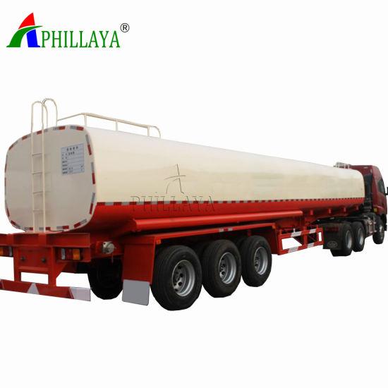 Front Axle Lift Three Axles Fuel Tanker Trailer