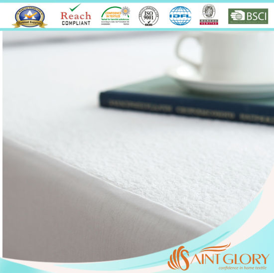 Terry Towel Fabric Waterproof Wholesale Mattress Cover pictures & photos