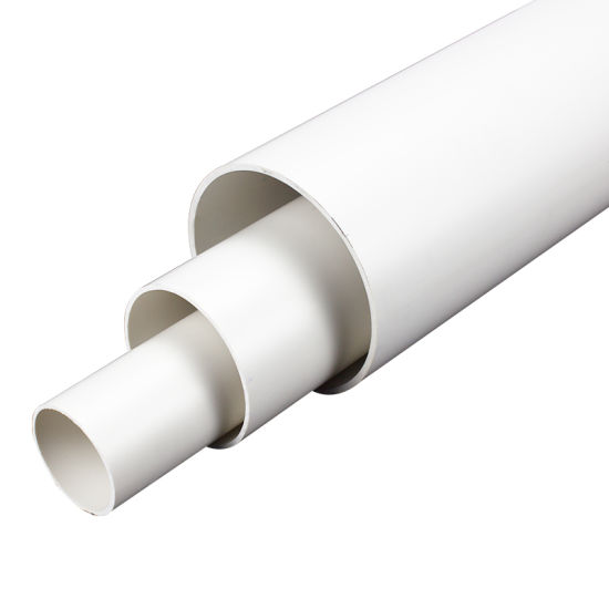 Large Diameter PVC UPVC Plastic Water Pipes PVC Underground Water Supply Plastic Pipe for Agricultural Irrigation