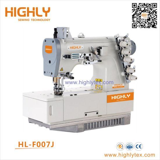 China Siruba Type Flat Bed High Speed Interlock Sewing Machine China Multi Needle Sewing Machine Rolled Edge Sewing Machine