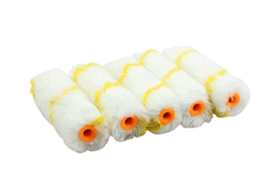 Mini Paint Roller Refill 4 Inch Nap Soft Woven