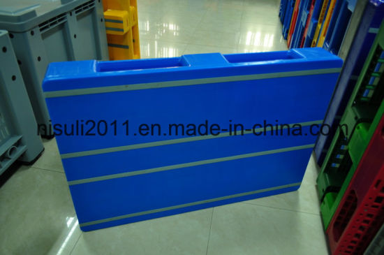 Multi-Size New HDPE 3 Skids Plastic Pallet From China Manufacturer pictures & photos