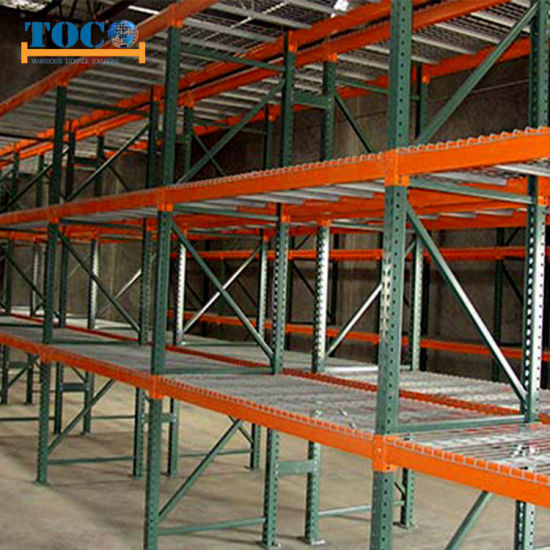 Teardrop Warehouse Rack System High Standard for American Certified