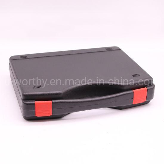 Black Hard Plastic Tool Carrying Case PP Tool Box