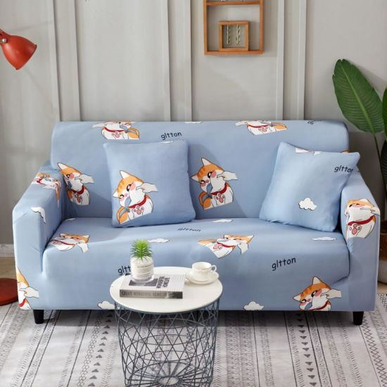 Incredible China Machine Washable Spandex Furniture Protector Flower Short Links Chair Design For Home Short Linksinfo
