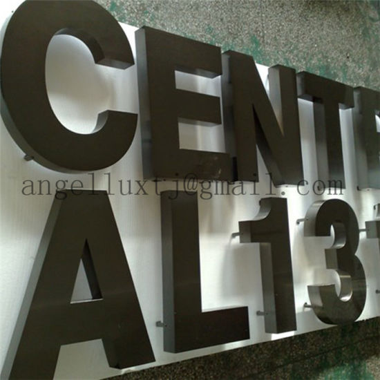 School Hospital etc Public Place Stainless Steel Metal Sign Advertising Letter Sign pictures & photos