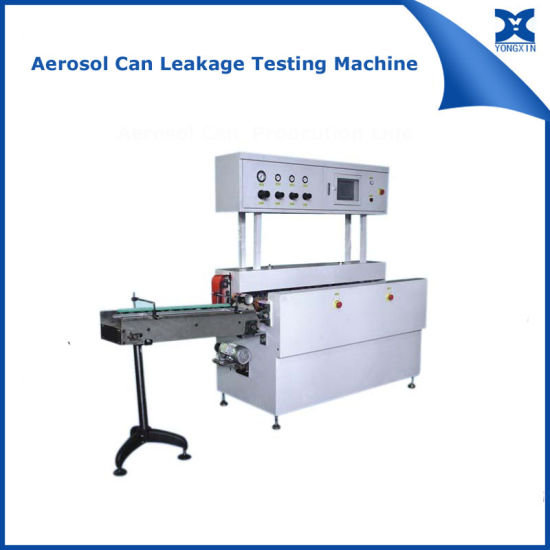 Automatic Flanging Necking Machine for Aerosol Cans pictures & photos