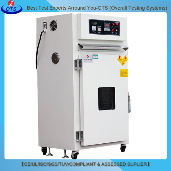 Electric Industry Small Precision High Temperature Vacuum Drying Oven