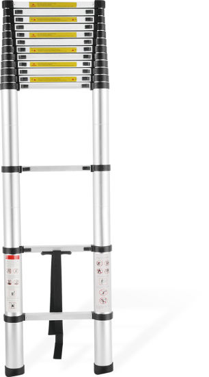 En131-6 Newest Extension Aluminum Telescopic Ladder pictures & photos