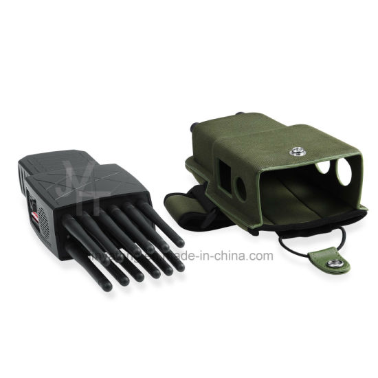 World First 12 Antennas All-in-One Full Bands Handheld Mobile Phone Jammer with Lojack GPS WiFi Blocking RF Signals 315/433/868 (Remote Control) pictures & photos