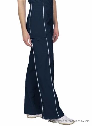 Customized Doctor Wear Nursing Pants W/Pipng Sportwear Scrubs Uniforms