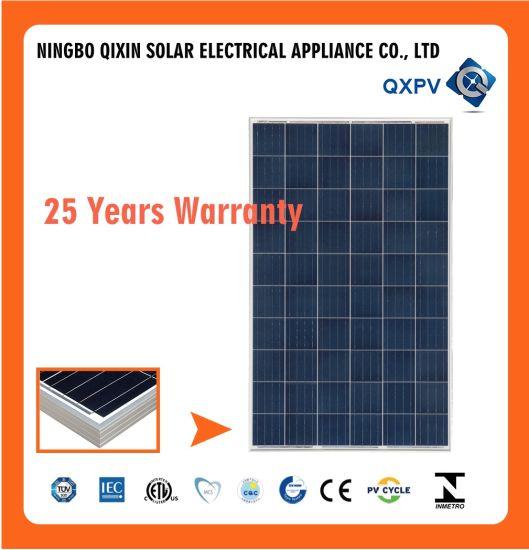 China High Efficiency Top Quality 275W 24V Polycrystalline Solar