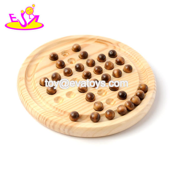 wooden solitare game