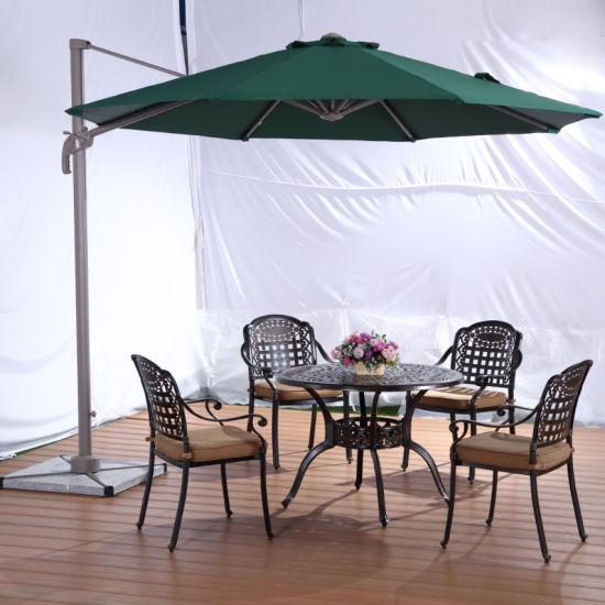 Garden Polyester Leisure Parasol Aluminium Outdoor Umbrella