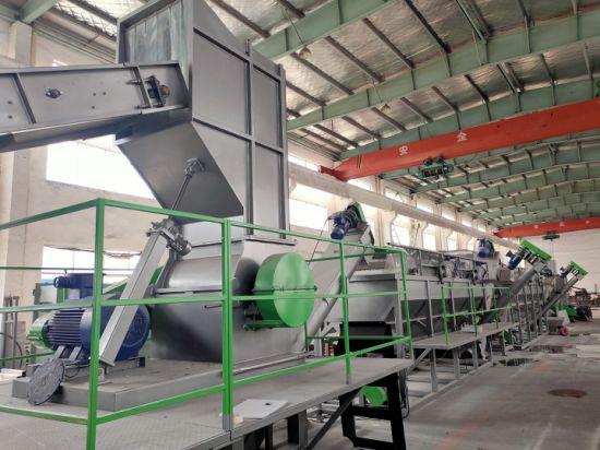 Waste Plastic Recycling Machine PE PP Pet Film Bag Crushing Washing Granulating Machine
