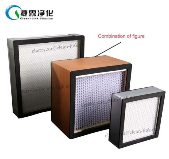 2016 Clean-Link Hot Sale Mini-Pleat HEPA Filter, ULPA Filter pictures & photos
