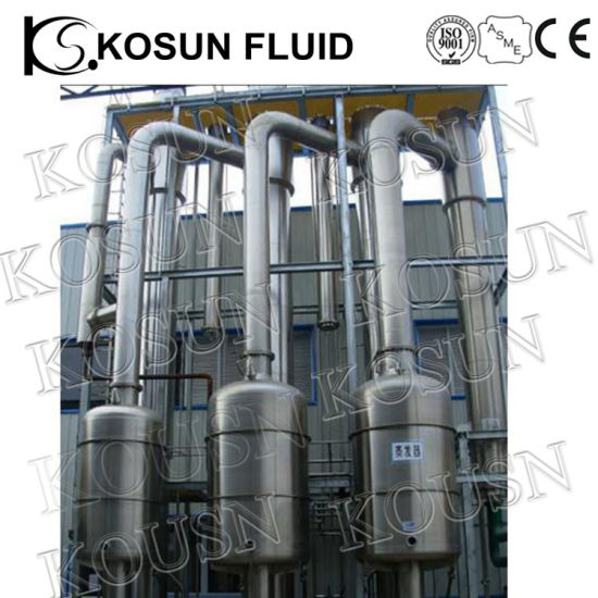 Stainless Steel Single Double Triple Effect Falling Film Evaporator pictures & photos