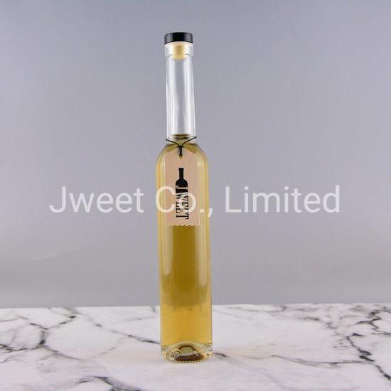 Factory Wholesale Slim Long Neck 375ml Spirits Glass Bottle