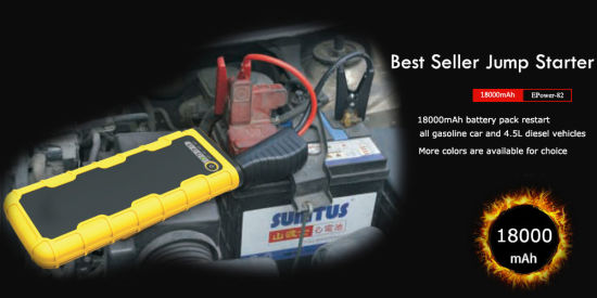 China Best Seller 18000mah Quick Charge Portable Car Jump Starter Power Bank China Car Jump Starter Jump Starter
