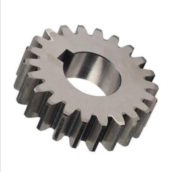 Forging SAE1045 F114 C45h Precision Steel Bevel Gear pictures & photos