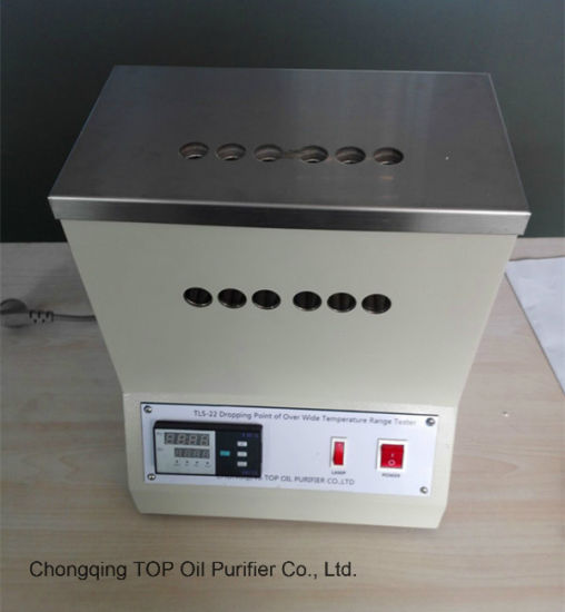 China Astm D2265 D566 Lubricating Grease Dropping Point Tester Tls 22 China Dropping Point Tester Astm D2265