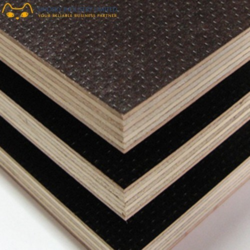 Brown Film Face Plywood. 18mm and 12mm Film Face Plywood,
