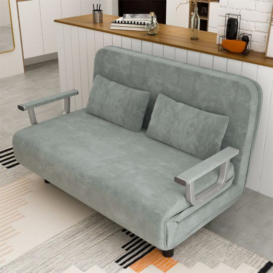 Free Tri Fold Lay Flat Folding Sofa Bed