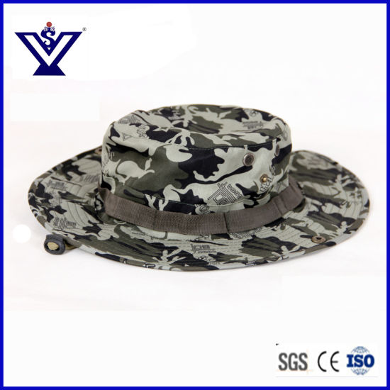 Combat Camo Army Military Boonie Bush Jungle Sun Hat Outdoor Hiking Fishing  Cap (SYSG-201835) 78aff99927d9